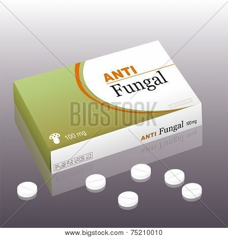 Antifungal Package Pills