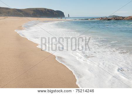 Sandwood Bay Beach.