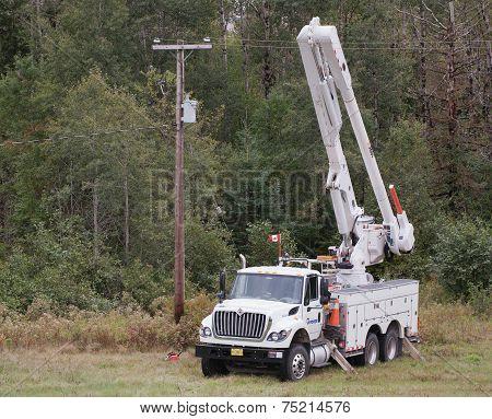 Nova Scotia Power Truck