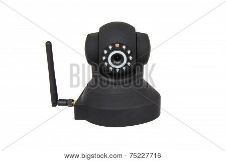 Security Wireless Camera Isolated On White