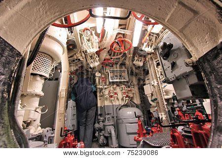 Museum Submarine Ship
