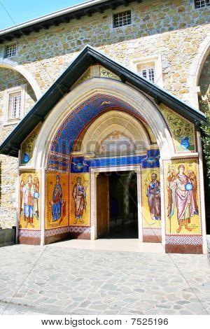 Monastery Kykkos In Cyprus