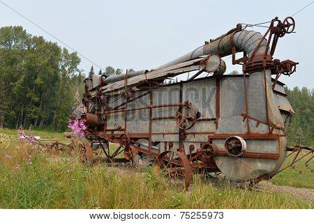 Vintage Threshing Machine