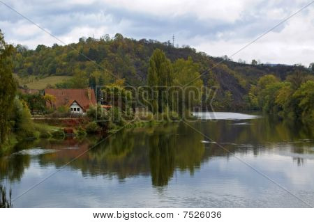 Karlstejn Lake