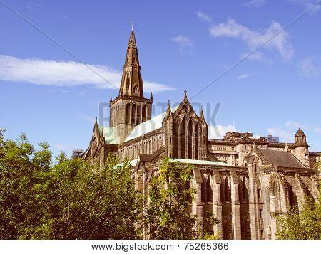 Retro Look Glasgow Cathedral