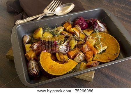 Rustic Baked Vegetables
