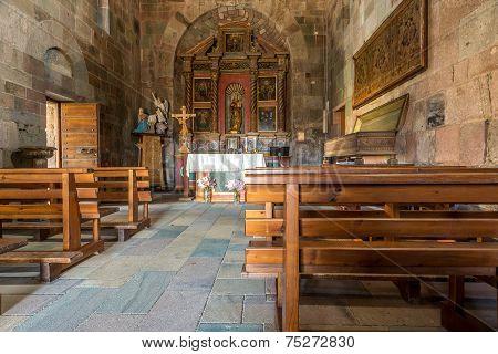 Inside Church Nostra Signora Di Castro