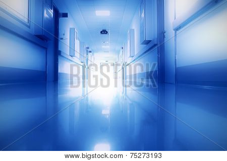 Mysterious Light In The Corridor