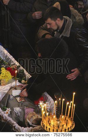 Funeral Ukrainian Soldier