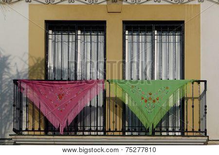 Andalucian shawls