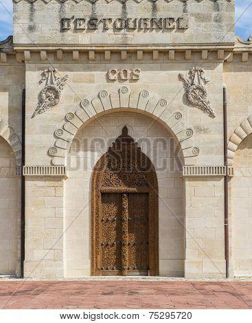 Door Of Chateau Cos D'estournel Saint-estephe