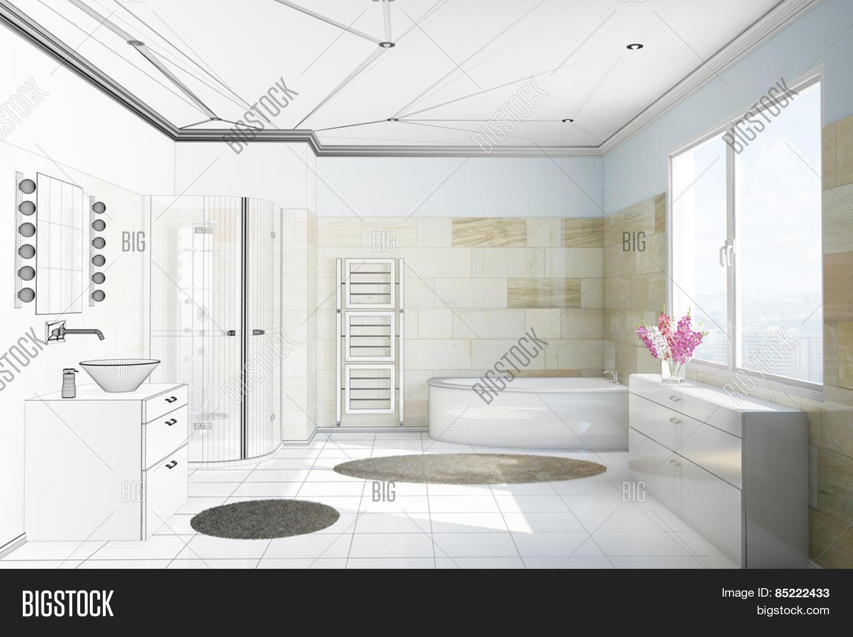 Planning Bathroom Image & Photo (Free Trial)   Bigstock