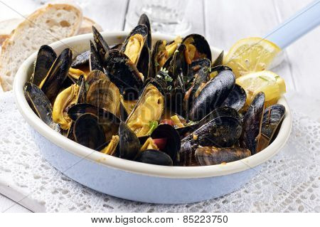 Sailors Mussels poster
