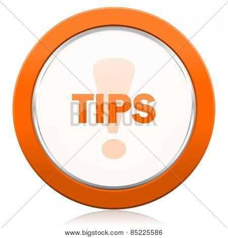 tips orange icon