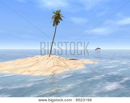 Tropical Sandbar
