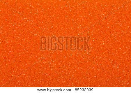 Orange sponge, a background or texture