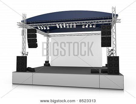 Konzert-Bühne