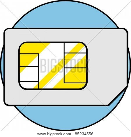 mini sim card poster