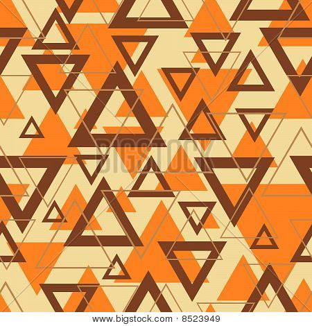 Geometric Seamless Background - Triangles