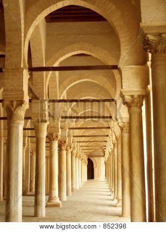 Ancient Corridor in Tunisia