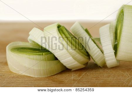 Sliced Leek