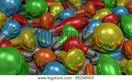 Many Light Bulbs