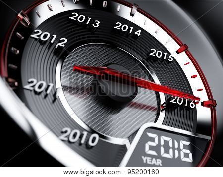 2016 Year Car Speedometer