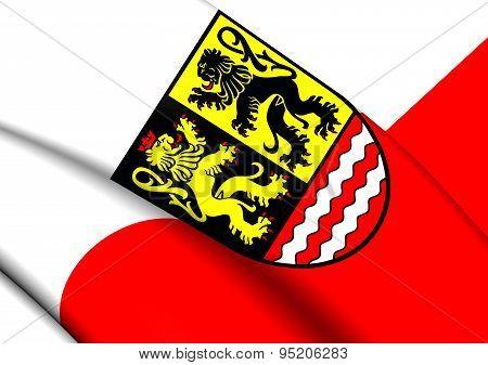 Flag Of Saale-orla, Germany.