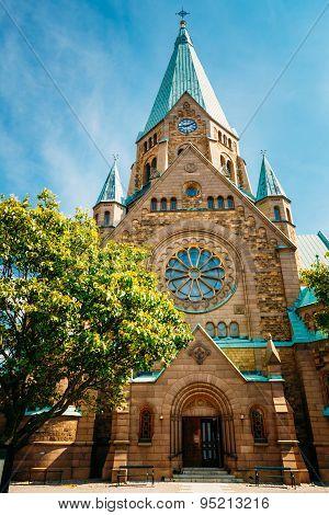 Building Of Sofia Kyrka - Sofia Church In Stockholm, Sweden