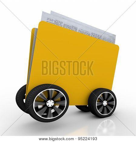 Folder For Document