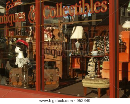 Eclectic Antiques Storefront