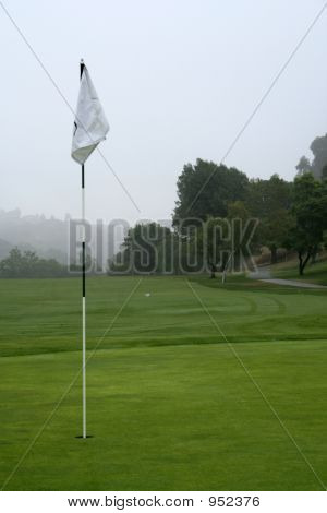 Foggy Morning Putting Green
