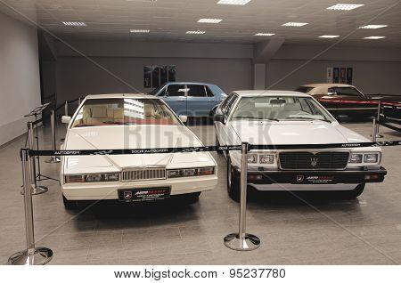 Aston Martin Lagonda and Maserati Quattroporte