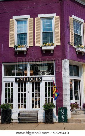 Antique Store Exterior
