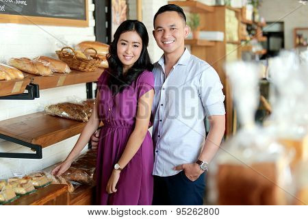 Amazing Couple At Bakery