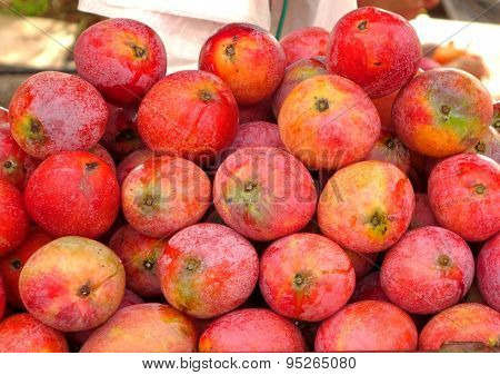 Ripe Red Mangoes For Sale