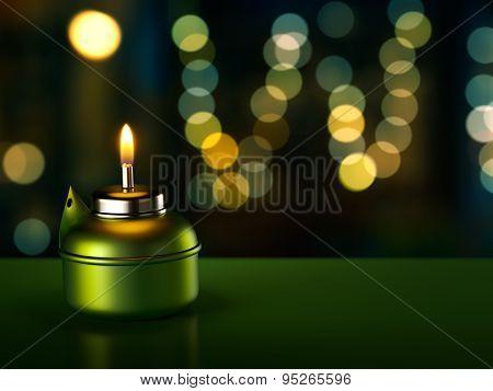 Ramadan Oil Lamp