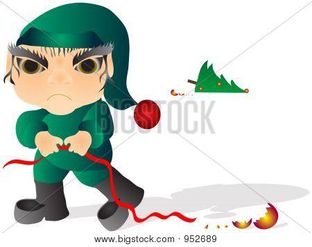 Christmas Elf Mad