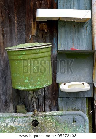 Rustic Washstand