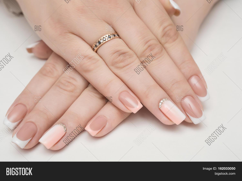 Manicure Beauty Treatment Photo Image & Photo | Bigstock