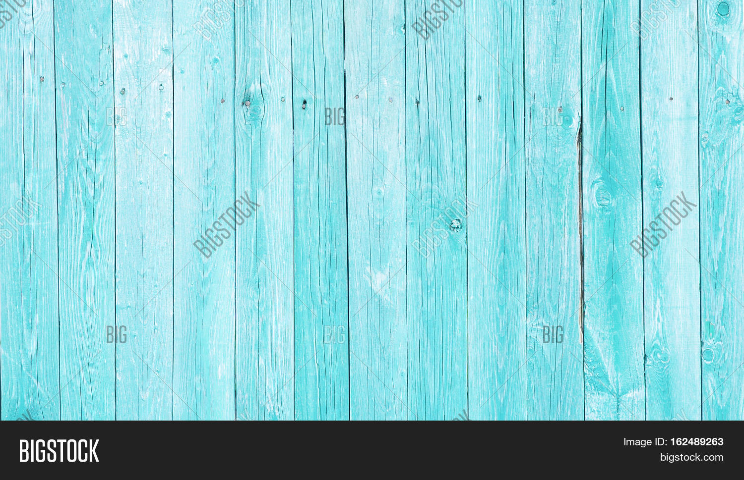 Natural Rustic Old Wood Board Wall Shabby Turquoise Color Background Wooden Vintage Style Texture