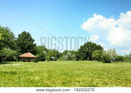 Rural land with horse yard