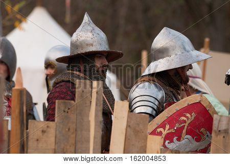 Fighting Medieval Knights