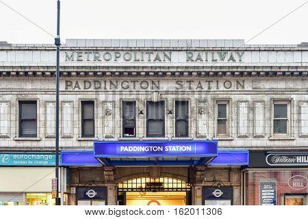 Paddington Station - London, Uk