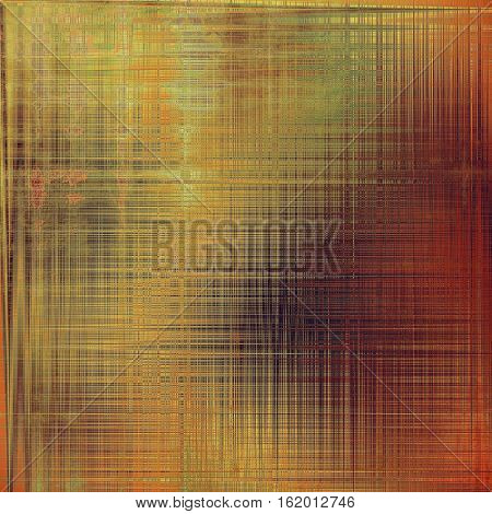 Closeup vintage texture, weathered grunge background. With different color patterns: yellow (beige); brown; green; red (orange); purple (violet); pink