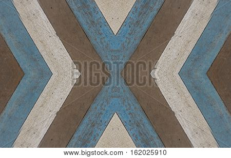 abstract seamless old wood texture pattern on mirror style - can use to display or montage on product