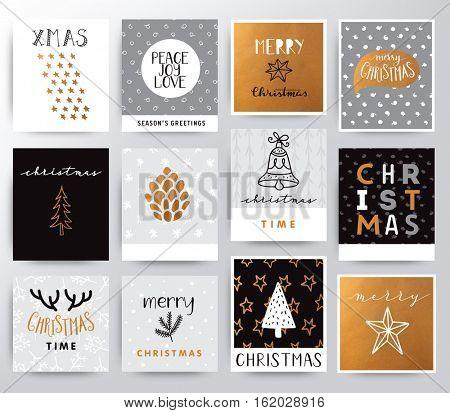 Christmas illustration set