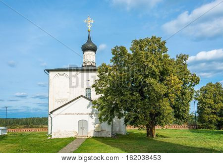 The Church Of Boris And Gleb, 1152, The Year Of Construction, Vladimir Region, Russia.
