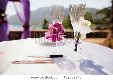 Wedding Bouquet And Flower Decoration