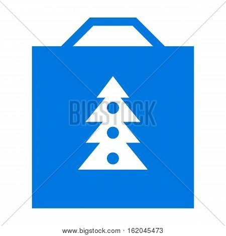 Shopping bag with design with Christmas Tree